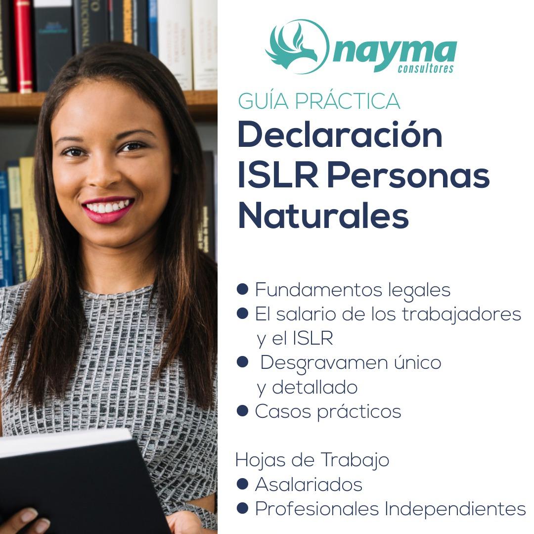Cómo Hacer La Declaracion ISLR Personas Naturales Venezuela