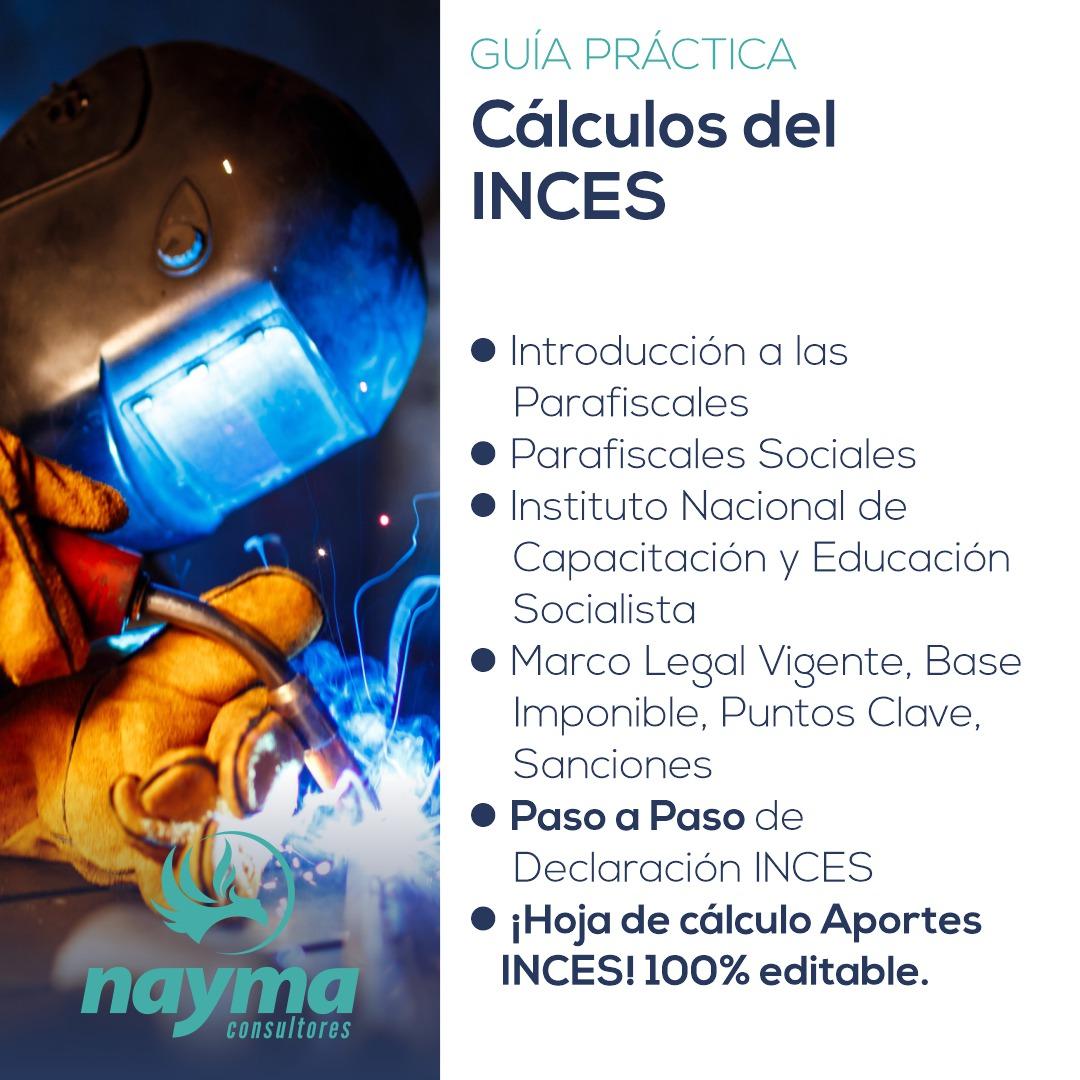 Guía Práctica – Cálculos del INCES